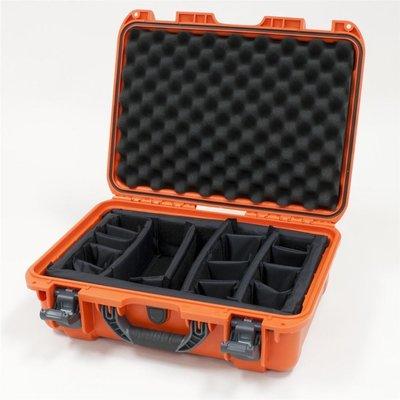 Nanuk 925 Oranje met Vakverdelers